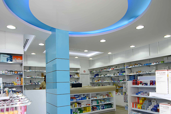 Fit Out Design for medical store