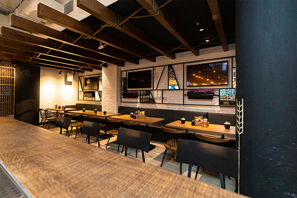 restro and café fit out