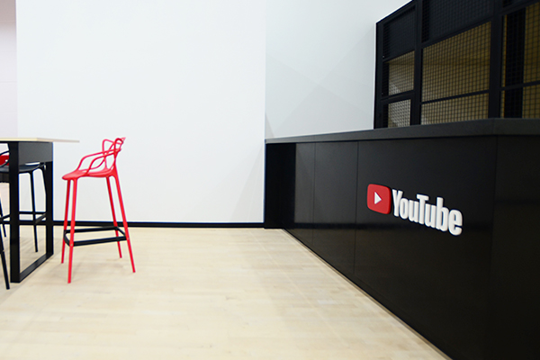 YouTube Office Interior Design