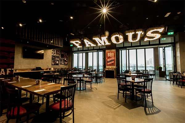 Famous Restaurant Interior Design