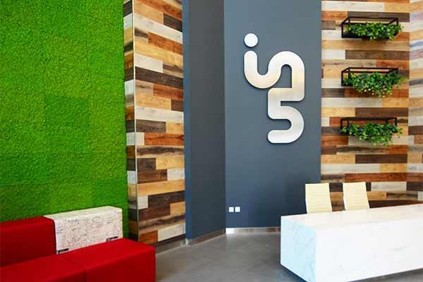 Interior design of In5