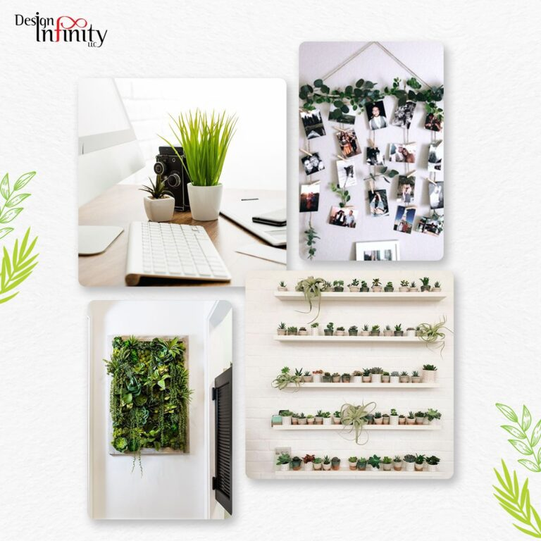Green Interior design at office